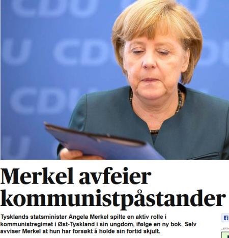 Merkel bekrefter