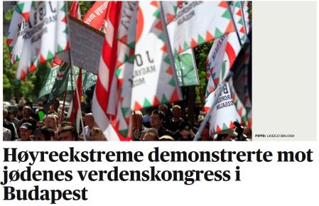 Protest i Ungarn